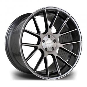 Cerchi in lega  RIVIERA  RF104  24''  Width 9,5   PCD Custom  ET disponibili da 25 a 45  CB 74.1    Carbon Grigio