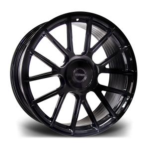 Cerchi in lega  RIVIERA  RF104  24''  Width 9,5   PCD Custom  ET disponibili da 25 a 45  CB 74.1    Gloss Black