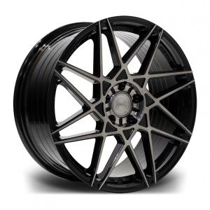 Cerchi in lega  RIVIERA  RF2  19''  Width 8,5   5X112  ET 45  CB 73.1    Black Polished Dark Tint