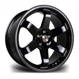 Cerchi in lega  STUTTGART  ST16  18''  Width 9,5   PCD Custom  ET Custom  CB 73.1    Gloss Black