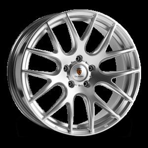 Cerchi in lega  STUTTGART  ST3  18''  Width 8,5   5X120  ET 35  CB 72.6    Silver Polished