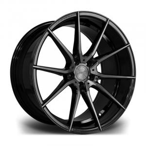 Cerchi in lega  RIVIERA  RV193  20''  Width 8,5   5X120  ET 35  CB 73.1    Black Polished Dark Tint