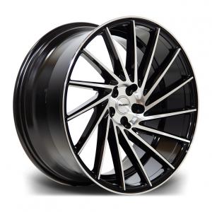 Cerchi in lega  RIVIERA  RV135  20''  Width 8,5R   PCD Custom  ET disponibili da 15 a 45  CB 73.1    Black Polished
