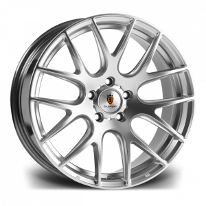 Cerchi in lega  STUTTGART  ST3  18''  Width 9,5   5X120  ET 38  CB 74.1    Silver Polished