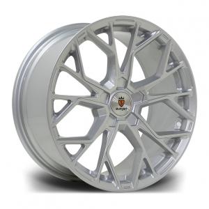 Cerchi in lega  STUTTGART  SF12  18''  Width 8,5   PCD Custom  ET 42  CB 72.6    Silver