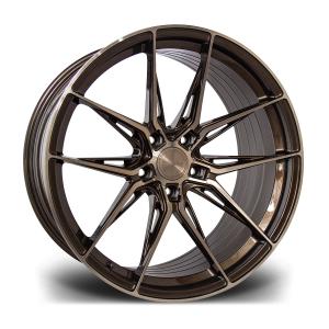 Cerchi in lega  RIVIERA  RF107  20''  Width 8,5   PCD Custom  ET disponibili da 15 a 45  CB 72.56    Bronze Double Dark Tint