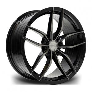 Cerchi in lega  RIVIERA  RV195  20''  Width 10   PCD Custom  ET disponibili da 15 a 45  CB 72.5    Black Polished Dark Tint