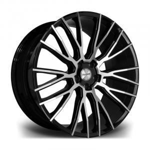 Cerchi in lega  RIVIERA  RV127  23''  Width 10,5   5X120  ET 35  CB 72.6    Black Polished