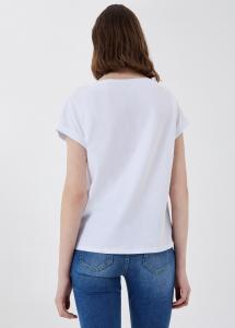 LIU JO JEANS WA1382J5003T9641 T-shirt con stampa