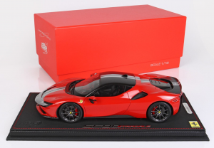 Ferrari Sf90 Stradale Pack Fiorano Rosso Corsa Gloss Black Roof Ltd 20 Pcs 1/18 BBR