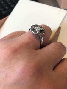 Anello in argento 925%