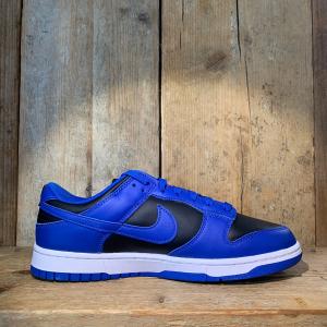 Scarpa Nike Dunk Low Retro Blu Royal E Nero