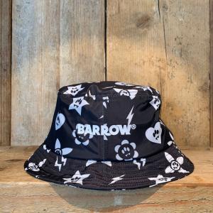 Cappello Barrow Pescatora Pattern Nero E Bianco