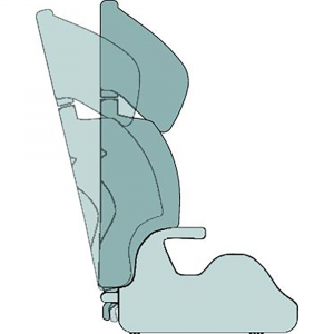 Seggiolino auto Miky Plus Fix 15-36 kg