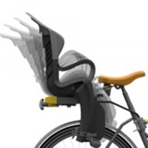 Seggiolino bici posteriore Tiger per il fissaggio al telaio (max 22 kg)