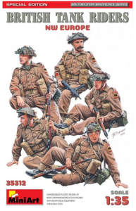 British Tank Riders - NW Europe