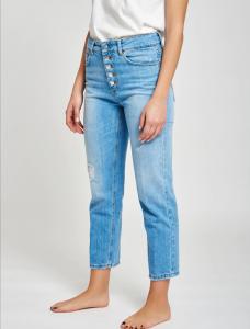 Vicolo - jeans abbottonatura a vista