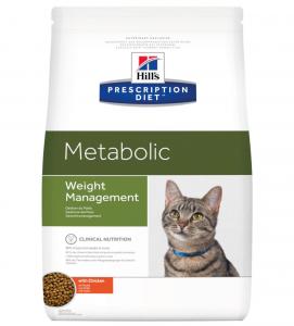 Hill's - Prescription Diet Feline - Metabolic - 4 kg x 2 sacchi