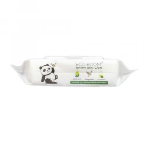 Kit Scorta Salviettine umidificate monouso in bamboo