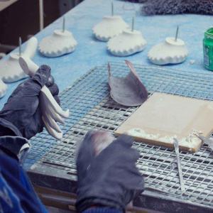 Appendino da parete appendiabiti Ganciobalilla Italy azzurro Made in Italy