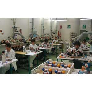 Portapenne Lattina Portaoggetti Vaso in resina nera Made in Italy