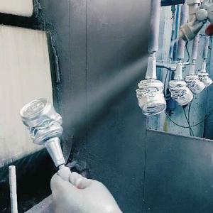 Lampada da parete Mano Globo in resina bianco opaco Made in Italy