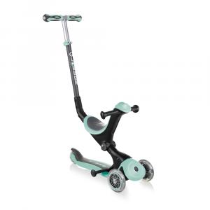 Monopattino Passeggino Triciclo a 3 Ruote Globber Go-UP Deluxe Mint