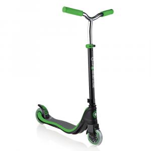Monopattino 2 ruote Doppia Iniezione 3 Altezze Globber Flow 125 Neon Green
