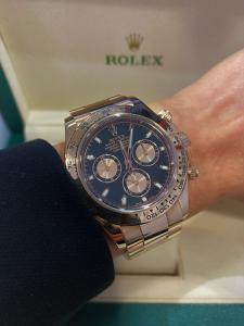 Orologio secondo polso Rolex Daytona