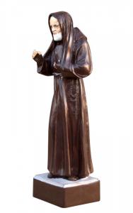 PROMO ! Statuette Padre Pio en bois