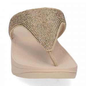 Fitflop Lottie Shimmer crystal artisan gold-3