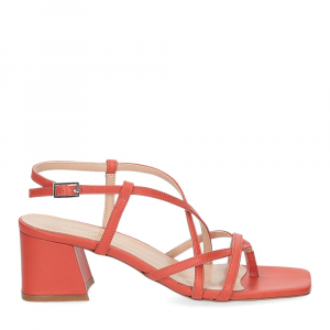 Il Laccio sandalo 1417 pelle arancio-2