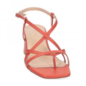 Il Laccio sandalo 1417 pelle arancio-3