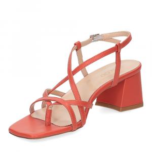 Il Laccio sandalo 1417 pelle arancio-4