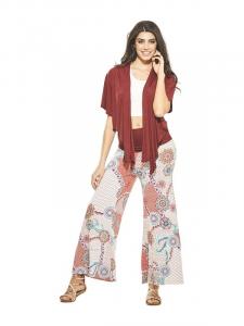Pantaloni in maglina. Pantaloni donna primavera estate