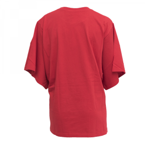 N° 21 - T-SHIRT LOGO OVERSIZE - COL. ROSSO