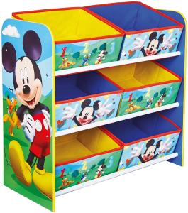 Contenitore Porta Giochi Topolino  60x63.50x30 cm