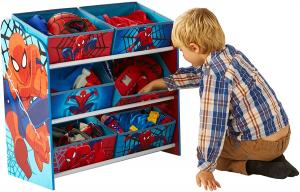 Contenitore Porta Giochi Spiderman 60x63.50x30 cm