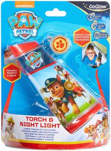 Luce Notturna e Torcia Paw Patrol