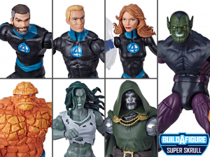 *PREORDER* Marvel Legends Series: FANTASTIC 4 - SERIE COMPLETA by Hasbro