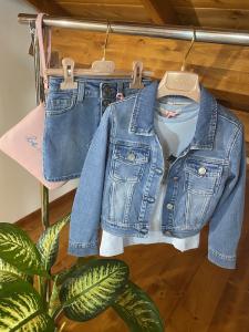 Giubbotto in jeans bambina  Vicolo Girl