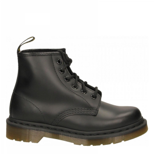 101 SMOOTH BLACK - 6 EYE BOOT