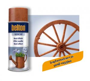 SPRAY COLORE EFFETTO RUGGINE ML 400 BELTON