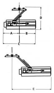 Trinciatrice GEO leggera laterale AGL 125