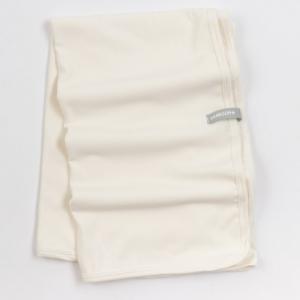 coperta clinica in jersey di bambù -panna-