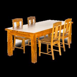 Tavolo in legno nuovo di teak balinese