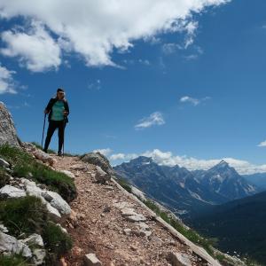 Escursione sulle Dolomiti