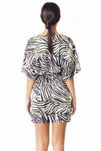 4Giveness Abito Corto Luxury Zebra