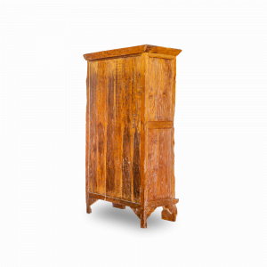 Credenza / Armadio in legno di teak recuperato balinese