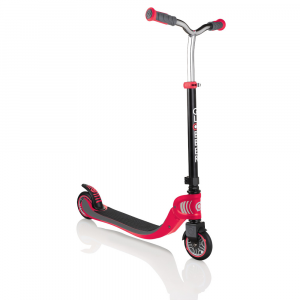 Monopattino 2 ruote pieghevole 4 Altezze Globber Flow Foldable 125 Red